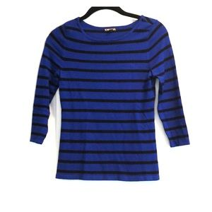 Express Fitted 3/4 sleeve sweater in 6 colors XS/S